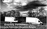 07d./08d./09d. į / iš Belgijos / Olandijos / Vokietijos į Lietuvą Galime parvežti jūsų krovinius, baldus, buitine technika, motociklus, kubilus,