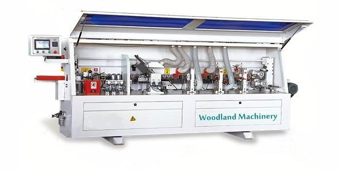 20-09-509 Automatinės kraštų užklijavimo staklės WOODLAND MACHINERY FZ-515 (naujos)