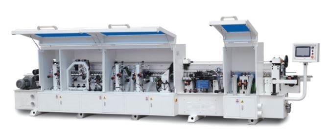 20-09- Automatinės kraštų užklijavimo staklės WOODLAND MACHINERY FZ-450DJ (naujos)