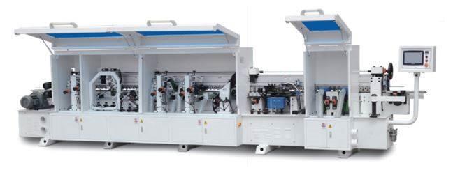 20-09- Automatinės kraštų užklijavimo staklės WOODLAND MACHINERY FZ-450DJK (naujos)