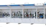 20-09- Automatinės kraštų užklijavimo staklės WOODLAND MACHINERY FZ-480DJK (naujos)