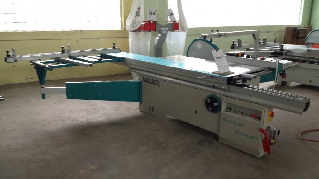 20-60-540 Formatinio pjovimo staklės  MJ6128TA(400) Woodland Machinery (naujos)