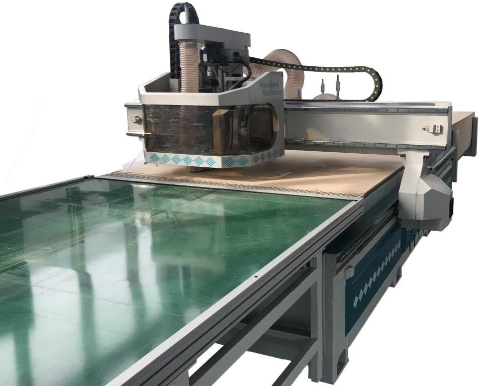 20-75-810 CNC apdirbimo centras WOODLAND MACHINERY  (naujas)