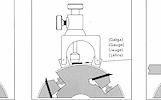 21-17-035 Peilių įstatymo įrenginys HOLZMANN MEL2