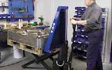 21-32-043 Elektrinis - hidraulinis aukšto pakėlimo padėklų vežimėlis SL 1000E