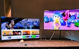"48""-65"" Samsung Philips led televizoriai"