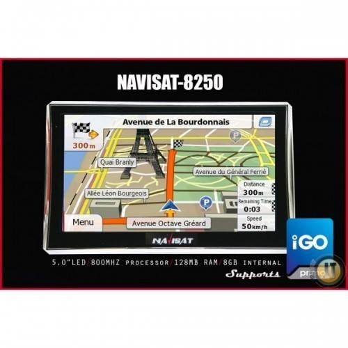 69 EUR SUPER GREITA didelio ekrano NAVISAT GPS navigacija sunkvežimiui, automobiliui
