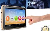 "7"", HD, Android 4.4 navigacinė sistema IHEX-HYBRID II + DVR vaizdo registratorius + AUTO + TRUCK"