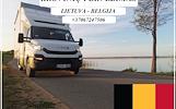 867247506 Lietuva- Belgija - Lietuva ! Galime parvežti jūsų krovinius, baldus, buitine technika, motociklus, kubilus, pirtis, įrengimus, medžiagas ir