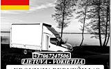 867247506 Lietuva - Vokietija - Lietuva ! Galime parvežti jūsų krovinius, baldus, buitine technika, motociklus, kubilus, pirtis, įrengimus, medžiagas