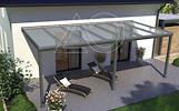 Aliuminio stoginė terasai tik nuo 1050 Eur