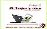 Apple nešiojamų, stacionarių kompiuterių, telefonų remontas