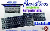 ASUS nešiojamų kompiuterių klaviatūros geromis kainomis, jų keitimas, remontas