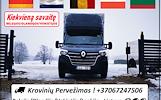 Belgijos / Olandijos / Vokietijos / Lenkijos į Lietuvą  *Galime parvežti jūsų krovinius, baldus, buitine technika, motociklus, kubilus, pirtis,