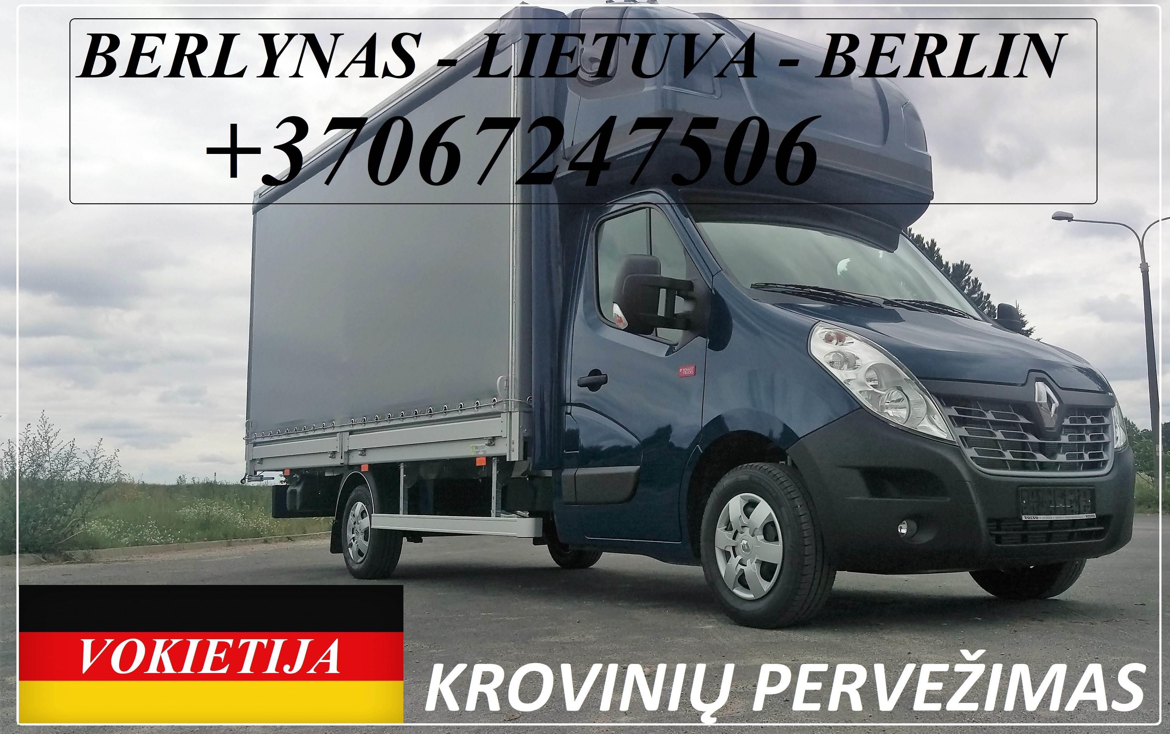 Berlynas - Lietuva - Berlin !  transporto paslaugas Lietuva - Vokietija / Germany - Lietuva