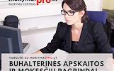 Buhalterinės apskaitos ir mokesčių pagrindai Šiauliuose (vakariniai)