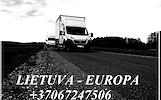 Butu-namu perkraustymas  LIETUVA - EUROPA - LIETUVA +37067247506 EUROPA - LIETUVA Tarptautiniai perkraustymai nuo durų iki durų Europoje ir visame pas