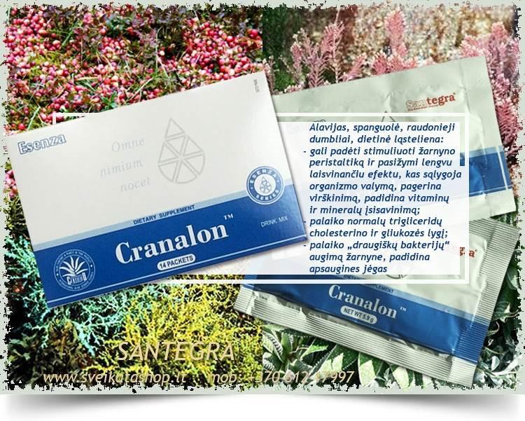 Cranalon™ 14 pak, multivitamininė formulė – maisto papildas Santegra JAV – AKCIJA