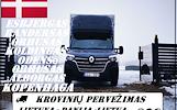 Danija - Lietuva 01d./02d./03d. Galime parvežti jūsų krovinius, baldus, buitine technika, motociklus, kubilus, pirtis, įrengimus, medžiagas