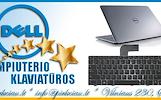 DELL nešiojamų kompiuterių klaviatūros geromis kainomis, pigiai