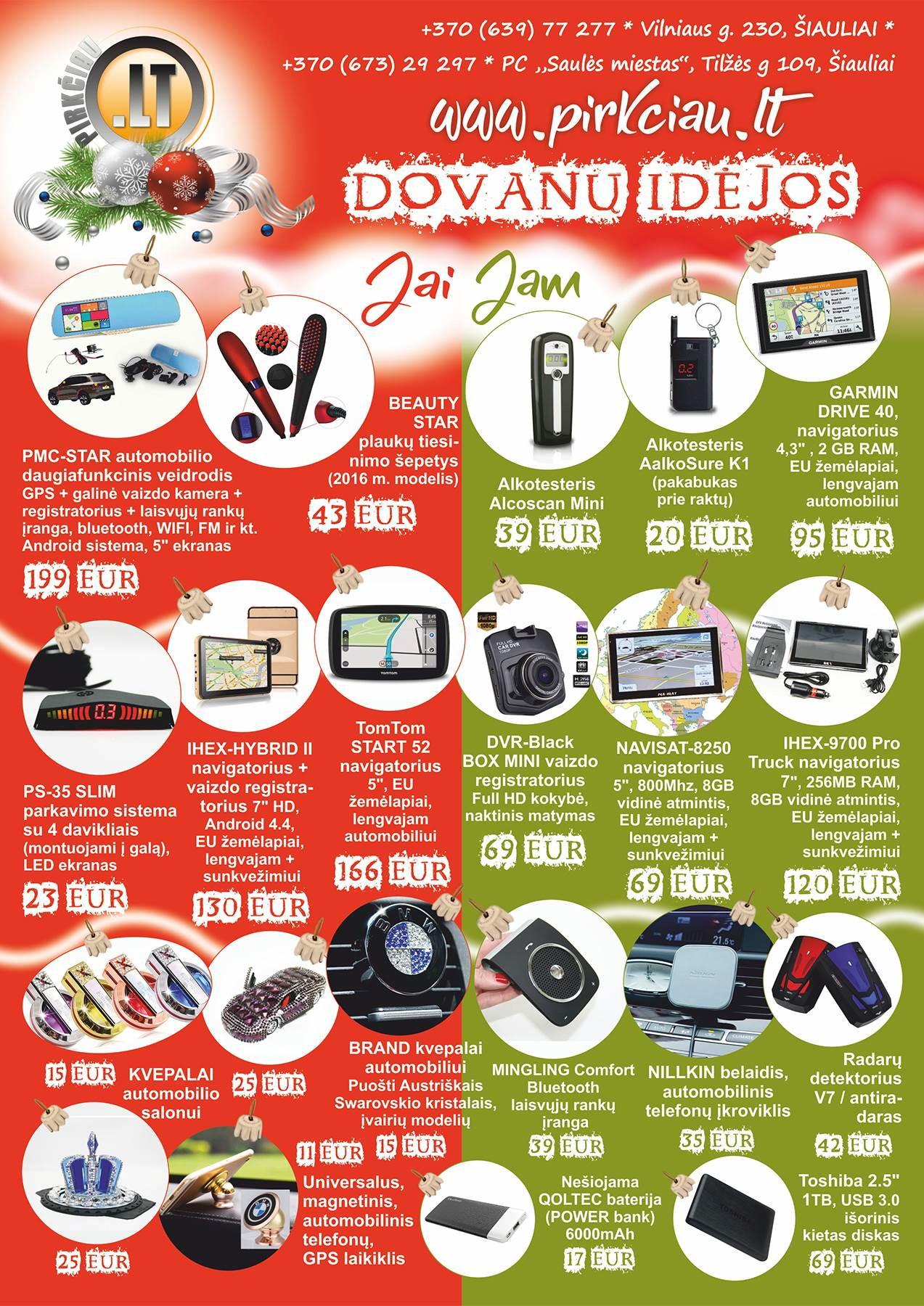 Dovanos, Kalėdinių dovanų idėjos, kalėdinės dovanos moterims, vyrams, vaikams, geros kainos