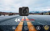DVR - CAMCORDER 4K GPS WIFI / 2880*2160P/24FPS / 150 LAIPSNIŲ KAMPU / VAIZDO REGISTRATORIUS NAUJIENA 2017 METŲ