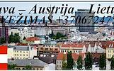 Eksponatų ir parodų įrangos pervežimas Lietuva – Austrija – Lietuva ! Antikvarinių daiktų gabenimas Lietuva – Austrija – Lietuva ; Parodų logistika Li