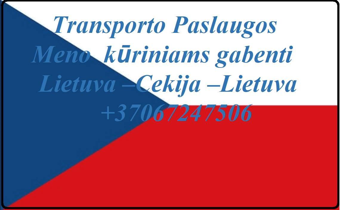 Eksponatų ir parodų įrangos pervežimas Lietuva – Čekija  – Lietuva ! Antikvarinių daiktų gabenimas Lietuva – Cekija – Lietuva ; Parodų logistika Lietu