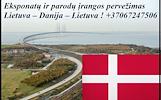 Eksponatų ir parodų įrangos pervežimas Lietuva – Danija – Lietuva ! Antikvarinių daiktų gabenimas Lietuva – Danija – Lietuva ; Parodų logistika Lietuv