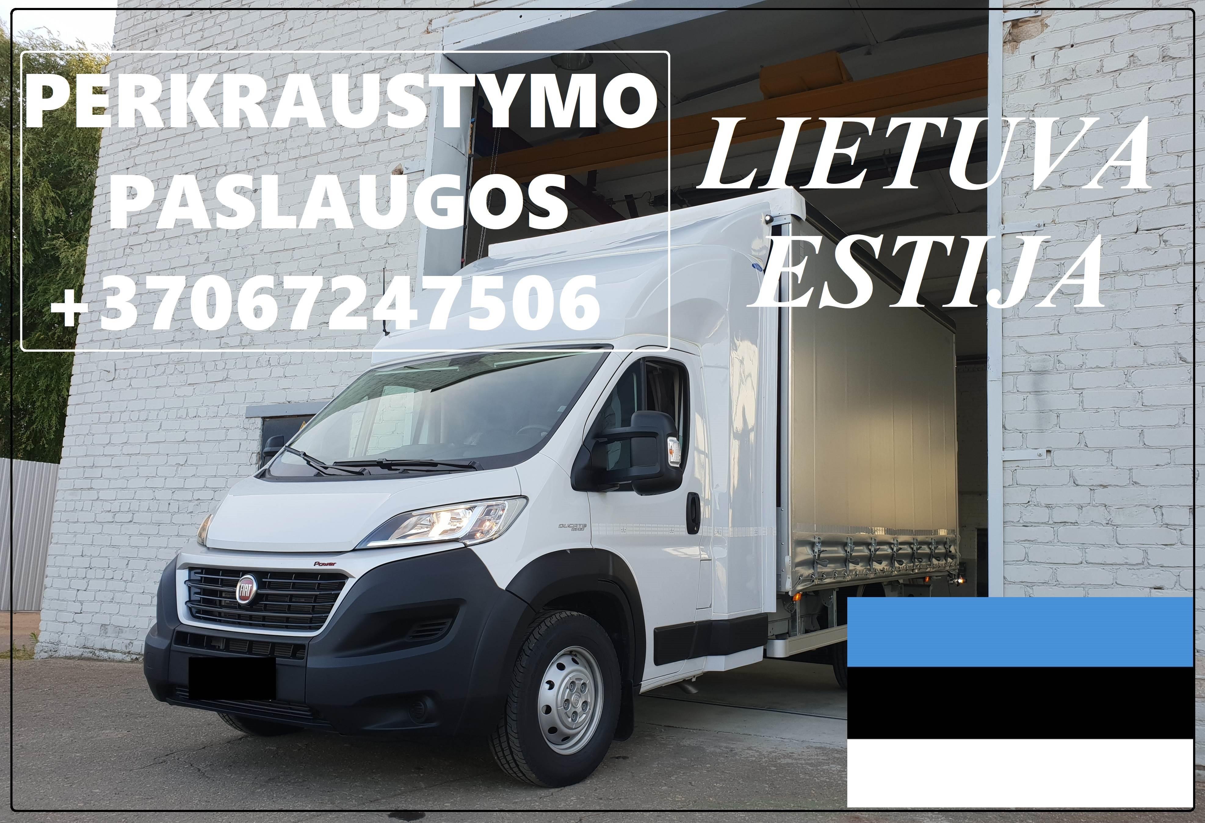 Eksponatų ir parodų įrangos pervežimas Lietuva – Estija – Lietuva !