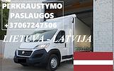 Eksponatų ir parodų įrangos pervežimas Lietuva – Latvija – Lietuva