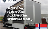 Eksponatų ir parodų įrangos pervežimas Lietuva – Norvegija – Lietuva