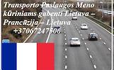 Eksponatų ir parodų įrangos pervežimas Lietuva – Prancūzija – Lietuva ! Antikvarinių daiktų gabenimas Lietuva – Prancūzija – Lietuva ; Parodų logistik