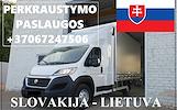 Eksponatų ir parodų įrangos pervežimas Lietuva – Slovakija – Lietuva