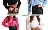 Elegantiška palaidinė-marškinukai