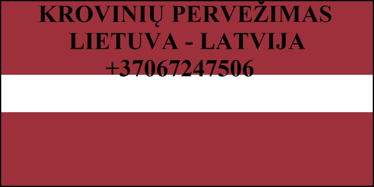 Gabename iš LATVIJOS  ir į LATVIJĄ.