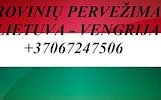 Gabename iš Vengrijos ir į Vengriją.