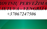 Gabename iš Vengrijos ir į Vengriją