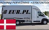 Galim paimti krovinius / siuntas iš Danijos / Vokietijos į LIETUVA ( Kopenhaga / Hileriodas / Roskildė / Nestvedas / Stubbekøbing / Odensė / Koldingas