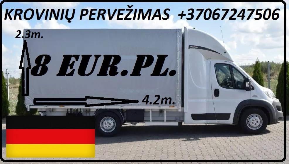Galim paimti krovinius / siuntas iš Vokietijos į LIETUVA ( Drezdenas / Leipcigas / Berlynas ) Galime parvežti jūsų siuntas, krovinius, baldus, buitine