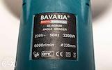 Galingas kampinis šlifuoklis Bavaria 3200 W
