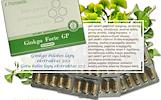 Ginkgo Forte GP, ginkmedžio lapų ekstraktas 60 kaps – maisto papildas Santegra JAV – AKCIJA