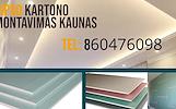 Gipso kartono montavimas Kaunas