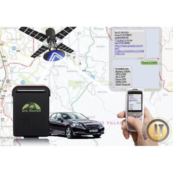 GPS SEKLYS + GPS BLAKĖ + GPS SIGNALIZACIJA