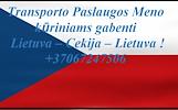 Greitai, atsakingai, patikimai ir geromis kainomis tegas Lietuva - Cekija - Lietuva. Nebrangiai pervežame įvairius krovinius.