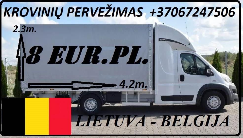 Greitai, atsakingai, patikimai ir geromis kainomis teikiame transporto paslaugas Lietuva - Belgija - Lietuva. Nebrangiai pervežame įvairius krovinius.