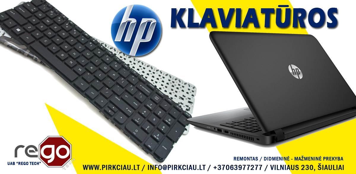HP nešiojamų kompiuterių klaviatūros, keitimas, remontas