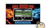 IHEX-3553 PRO NAUJOS KARTOS NAVIGACINĖ SISTEMA AUTOMOBILIAMS