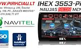 IHEX-3553 PRO NAVIGACINĖ SISTEMA AUTO / TRUCK