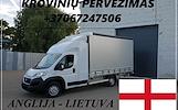 Įmonių ir gyventojų turto perkraustymas (perkraustymo paslaugos) Lietuva / Anglija / Lietuva / . Baldų pervežimas. Transporto paslaugos. Pervežimo, pe